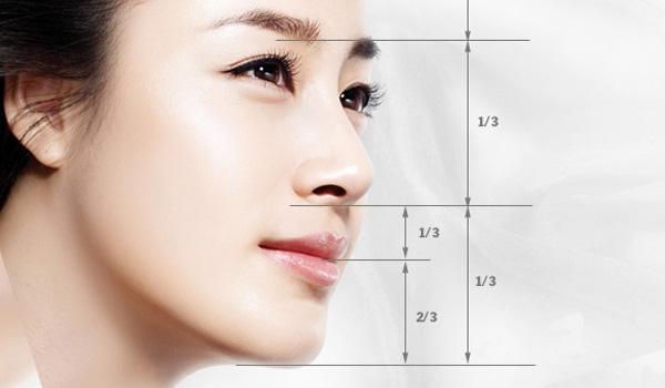 Tỉ lệ khuôn mặt chuẩn của phụ nữ Á Đông