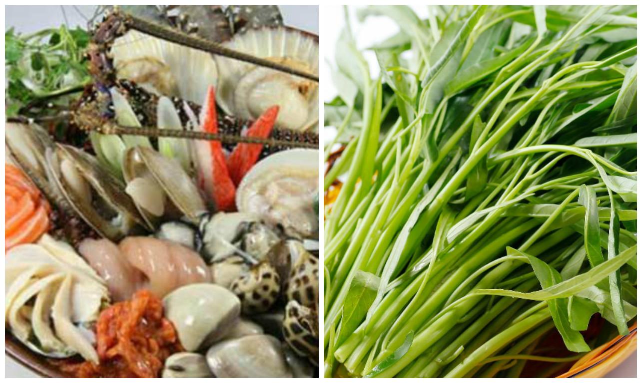 Không nên ăn hải sản, rau muống sau khi phẫu thuật